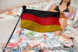augmentation salaire Allemagne