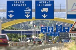 frontière franco suisse