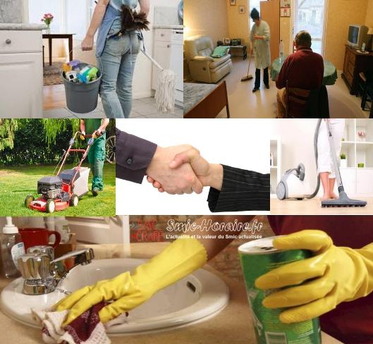 Salaires et indemnit s d 39 un employ de maison smic for Salaire d un commis de cuisine