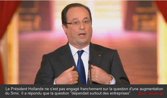 hollande smic