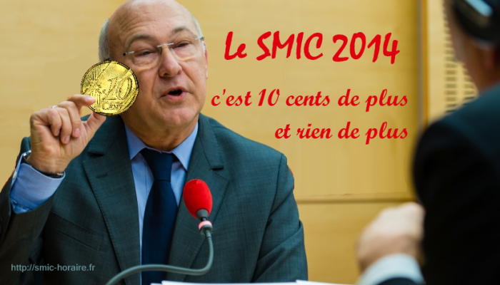 10 cents de plus au smic