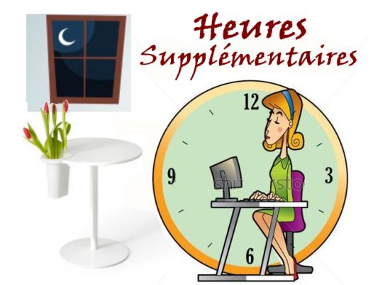heures supplementatires