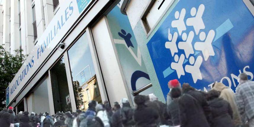la caf de Marseille ferme ses portes