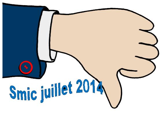 montant du smic au 1er juillet 2014 smic horaire fr