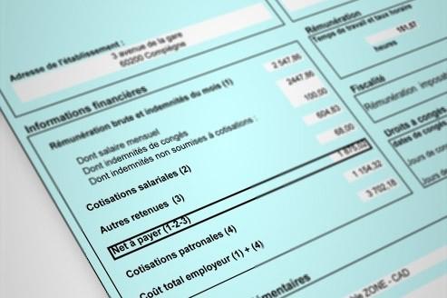 fiche de paie simplifiée
