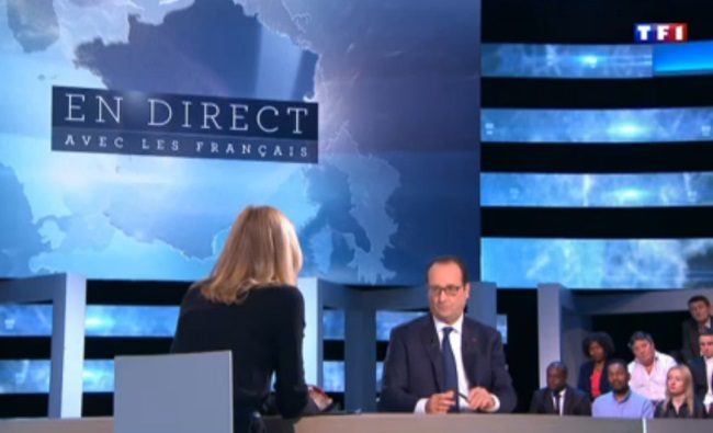 hollande sur TF1